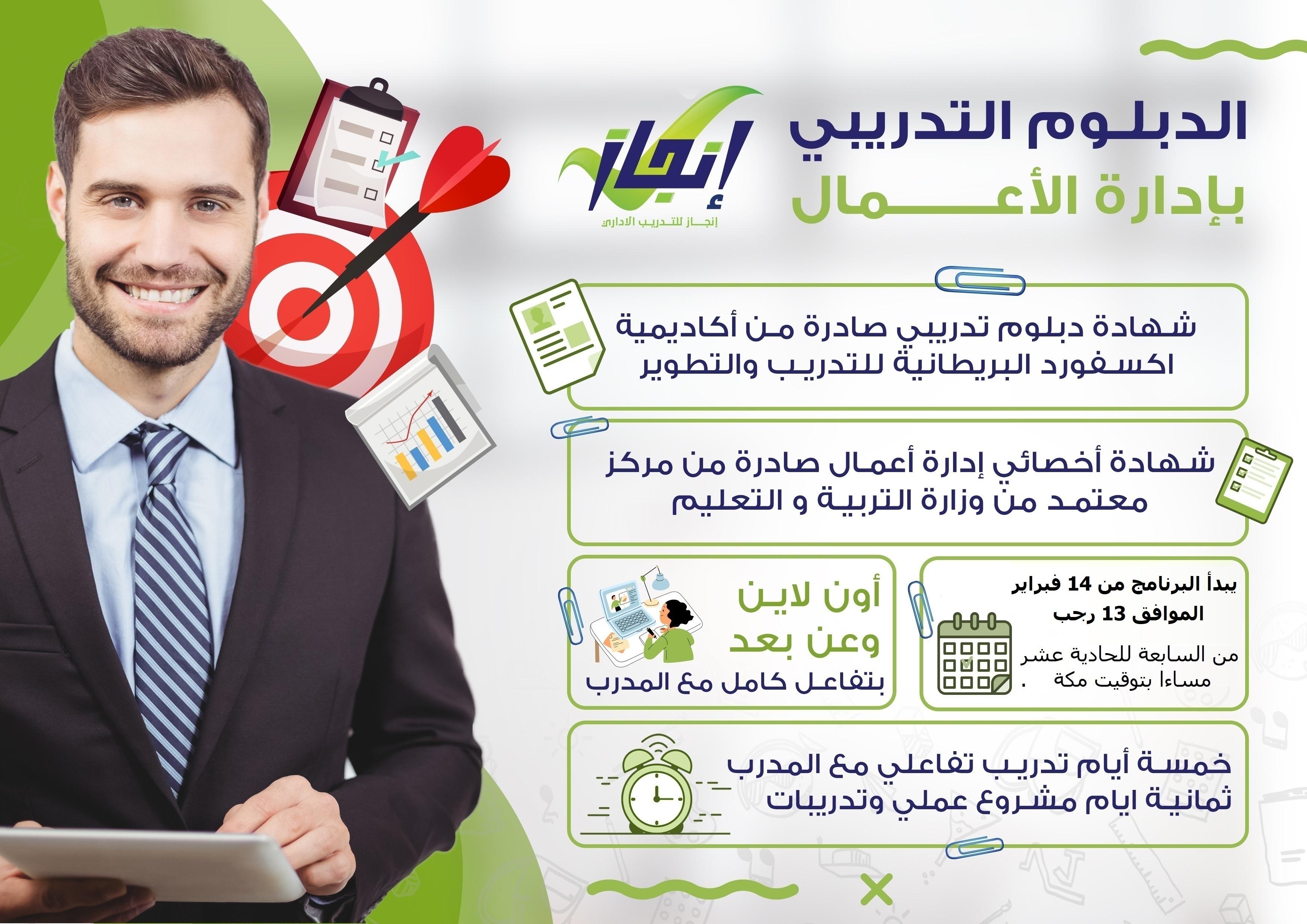 الدبلوم التدريبي بإدارة الأعمال